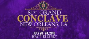 Omega Psi Phi 81st grand Conclave - New Orleans July 2018