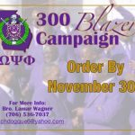 Omega Psi Phi Georgia Blazer Campaign