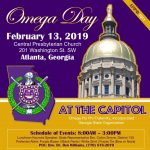 2019 Omega Day at the Georgia State Capitol Omega Psi Phi