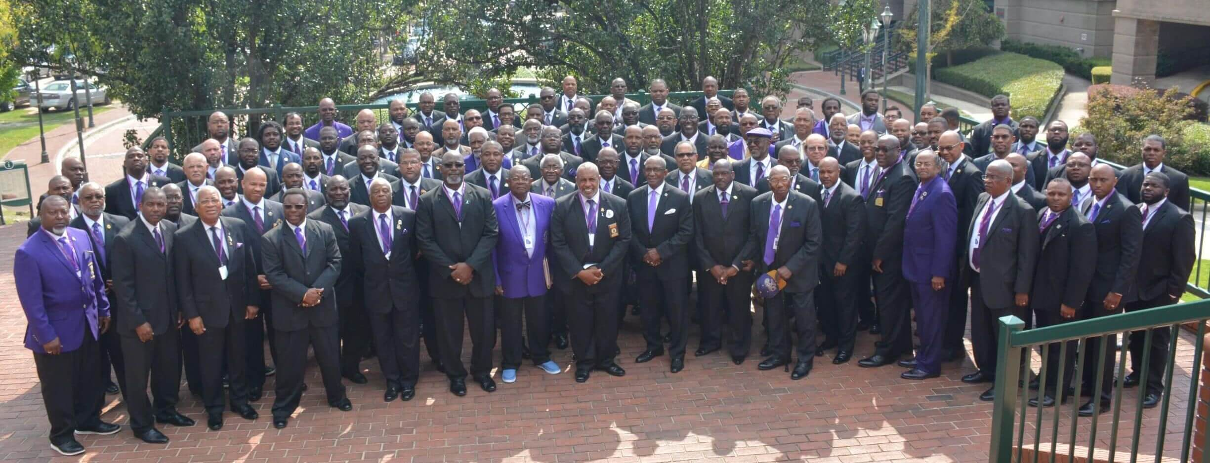 Ga State Organization group photo at the 2018 State Meeting in Augusta