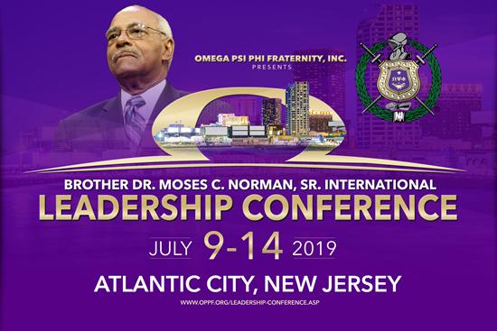 Flyer - 2019 Moses C. Norman Sr. International Leadership Conference