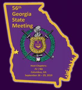 56th Georgia State Meeting - Omega Psi Phi Columbus, GA 2019