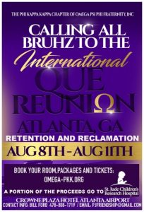 Phi Kappa Kappa Ques 2019 International Que Reunion flyer