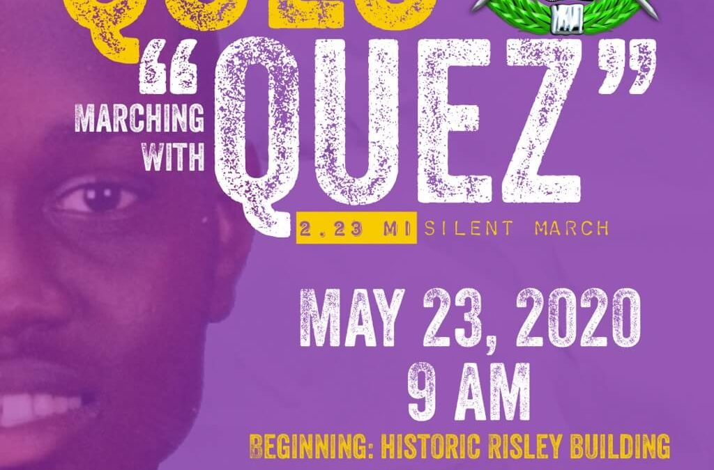 """Ques Marching With Quez"" March and Rally in Brunswick on May 23"