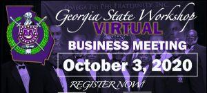2020 Omega Psi Phi Georgia State Workshop