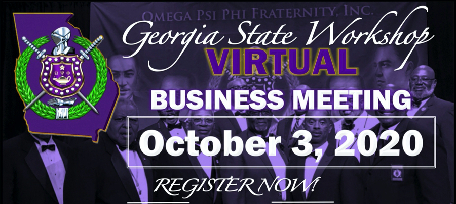 2020 Omega Psi Phi Georgia State Workshop