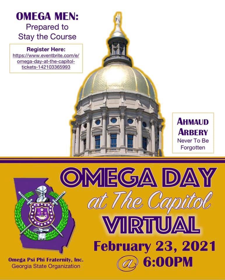 2021 Omega Psi Phi Day at the Georgia Capitol