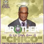 The Pearl Omega Psi Phi Seventh District Newsletter cover - March 2021 edition