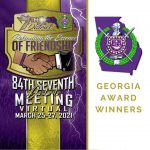 2021 Omega Psi Phi 7th District Award Winners - State of Georgia